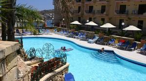Hotel Pool Area| Porto Azzurro Malta