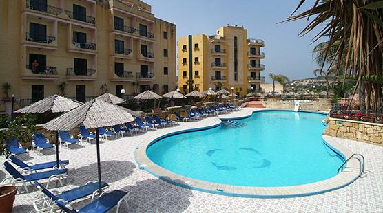 pool_hotel - Porto Azzurro Apart Hotel Malta