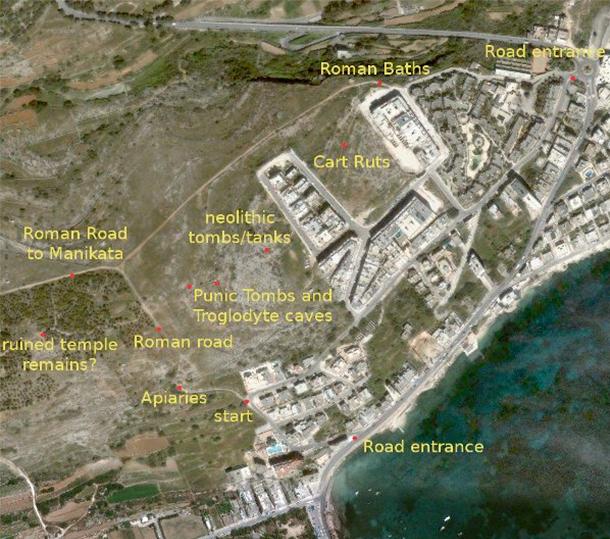 Xemxija Heritage Trail - Porto Azzurro Apart Hotel Malta