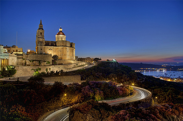 Mellieha at Night - Malta