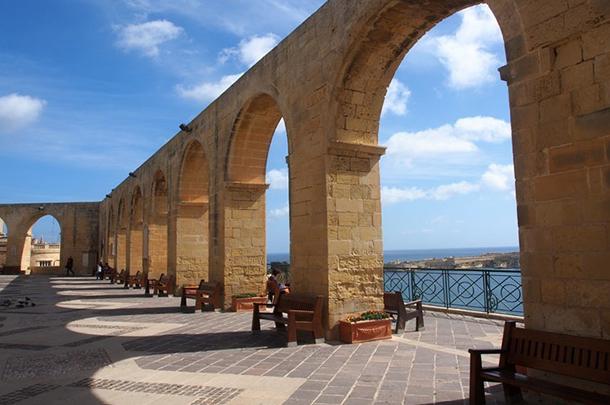 Valletta-Upper Barrakka Gardens