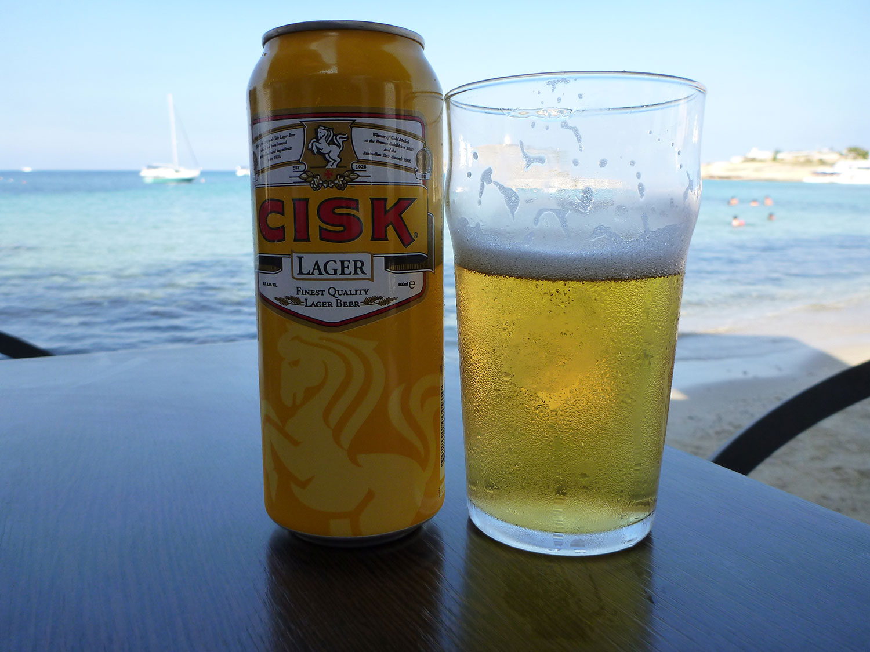 Cisk Beer - Lager Malta