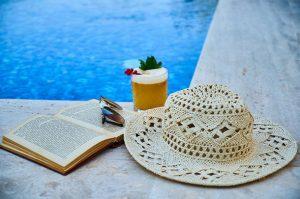 Day by the pool at the Porto azzurro Hotel in Xemxija, Malta